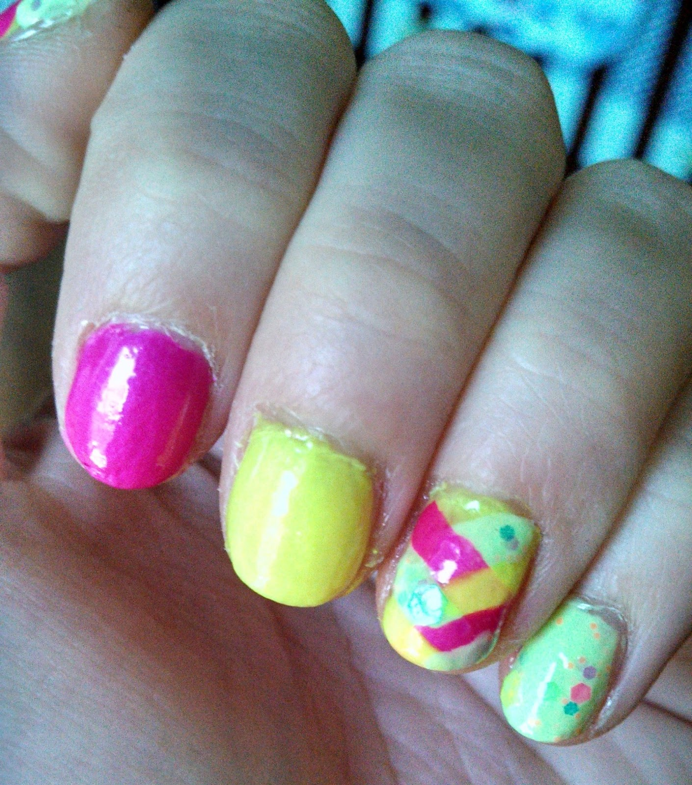 Nail Polish? Nail Polish!: June Nail Art Challenge - June ...