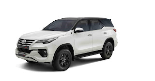 Toyota Fortuner launch new Fortuner trd celebrity edition