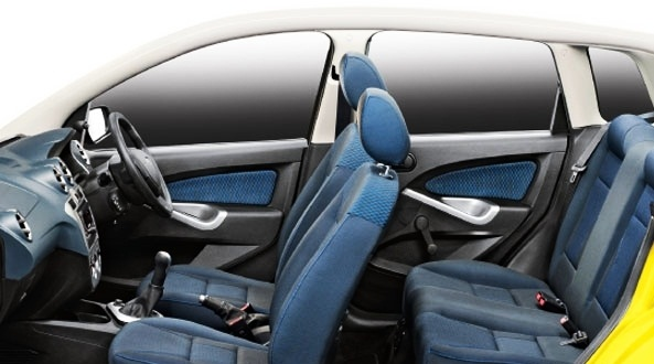 new ford figo interior