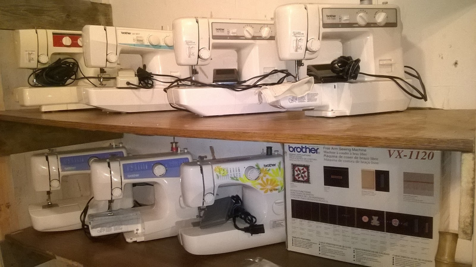 Many Newer Plastic Sewing Machines Like The Brother Vx 1120 Utilize A Metal Frame Under Case Supposedly This Gives It Strength