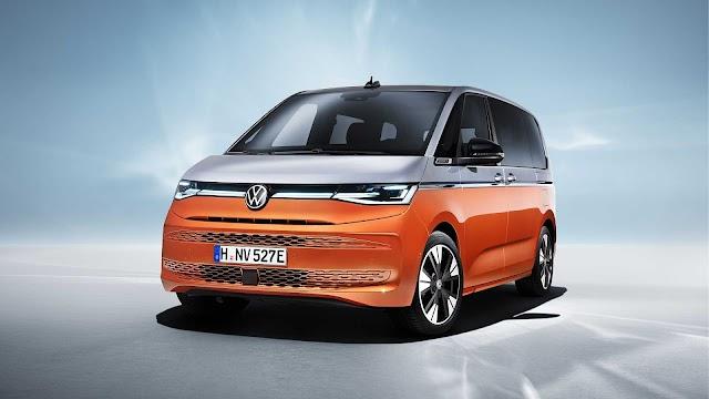 2022 VW Multivan T7 unveiled