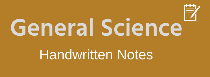 General Science Handwritten Notes Pdf Download - VISION