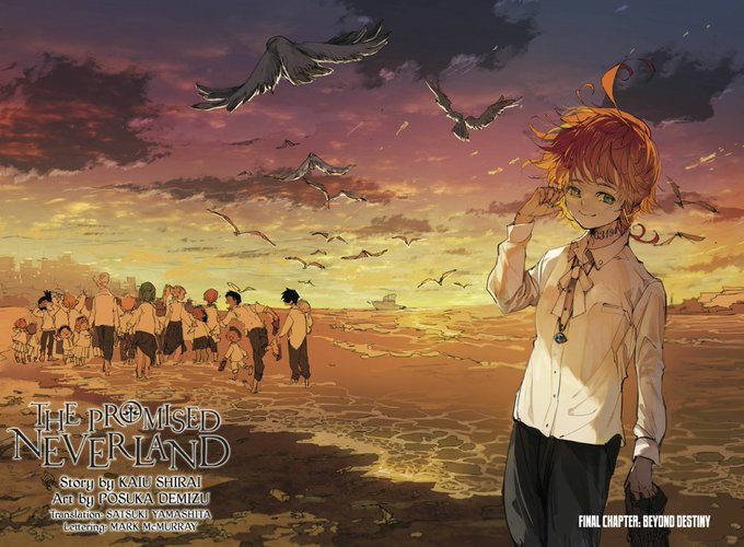 Manga The Promised Neverland Berakhir