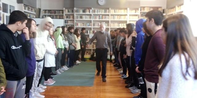 Το 1ο Λύκειο Ναυπλίου … «μπλοκάρει το ρατσισμό στο σχολείο»