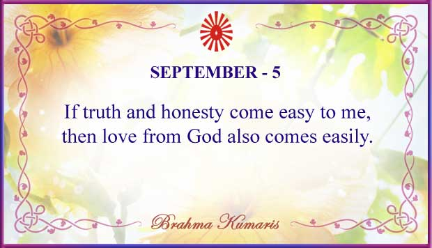 Thought For The Day September 5