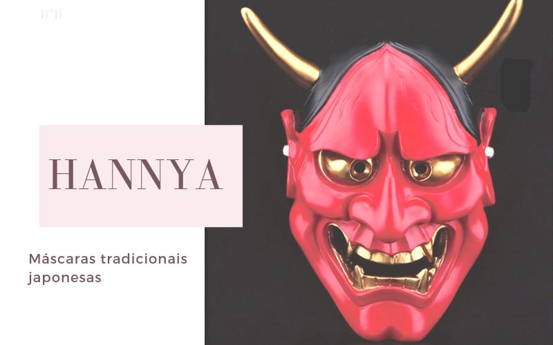 Máscaras na Cultura Japonesa: Hannya