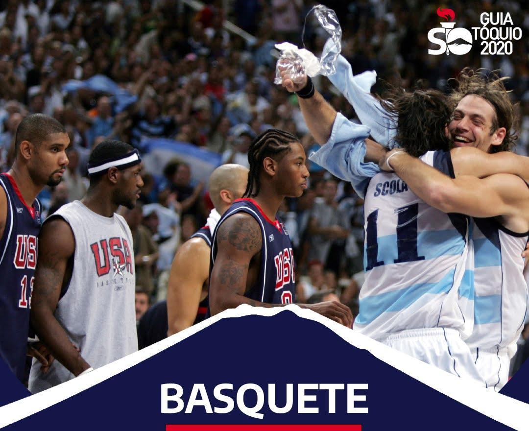 Como funciona o basquete na Olimpíada