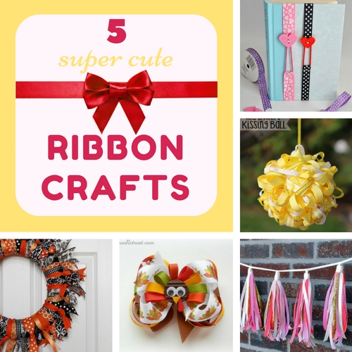 5 super cute ribbon crafts