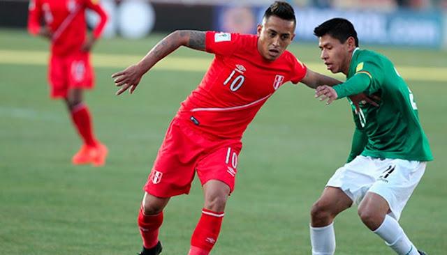Peru vs Bolivia en vivo online Eliminatorias Mundial 31 agosto