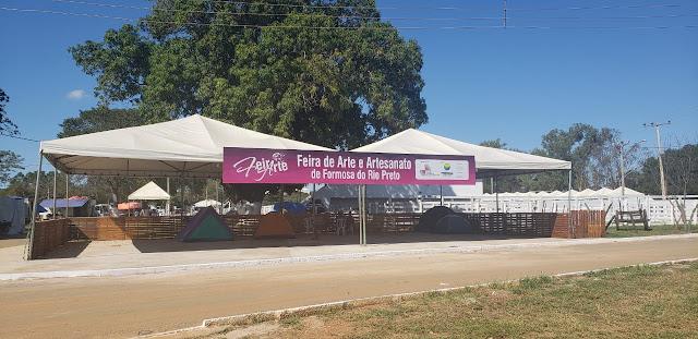 Formosa do Rio Preto já vive o clima da XXXV Vaquejada