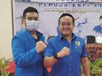 Ketua KNPI Alvin Akawijaya Putra Beri Selamat Raden Andreas