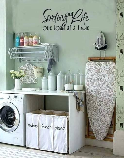 COLL FARMHOUSE DECOR IDEAS FOR LAUNDY ROOM
