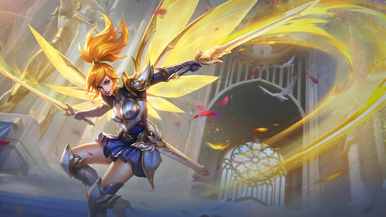 Wallpaper Fanny Lightborn Ranger Skin Mobile Legends Full HD for PC