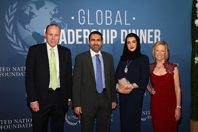 Al Ansari Exchange honoured by United Nations Foundation for their philanthropic work towards eradicating malaria