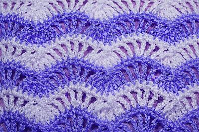 4 - Crochet Imagenes Puntada de ondas a crochet y ganchillo por Majovel Crochet