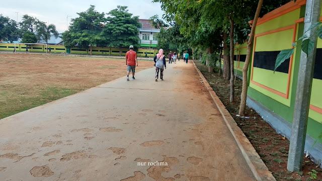 jogging  di GOR Tuban
