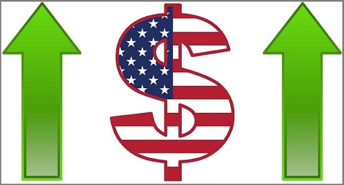 حركه سعريه صاعده للدولار الامريكي تزامنا مع بيانات التجزئة الامريكيه