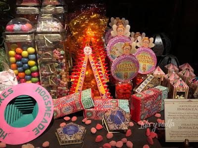 Exposición Harry Potter Valencia dulces
