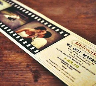 Jenis undangan photo pre-wedding