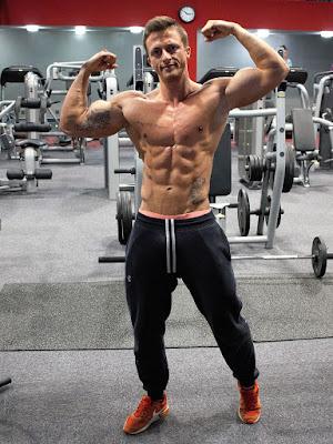 بناء العضلات للنحاف