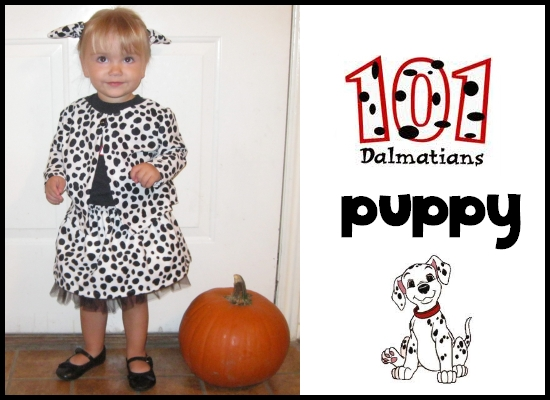 I just finished her costume and our costumes wonu0027t take much work at all- just a quick rummage through the closet and maybe a trip to the thrift store.  sc 1 st  Peek-a-Boo Pages - Patterns Fabric u0026 More! & 101 Dalmatians Family Costumes - Peek-a-Boo Pages - Patterns Fabric ...