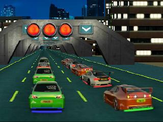 لعبة سباق الشوارع