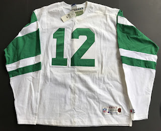 New York Jets Joe Namath Champion Throwbacks jersey