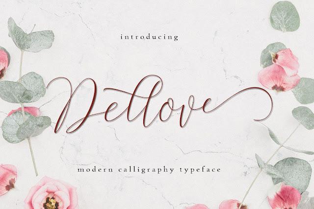 Dellove Download Font Free Download Font Free