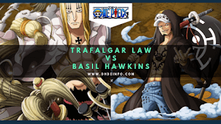 Prediksi Spoiler One Piece 946  Law Vs Hawkins