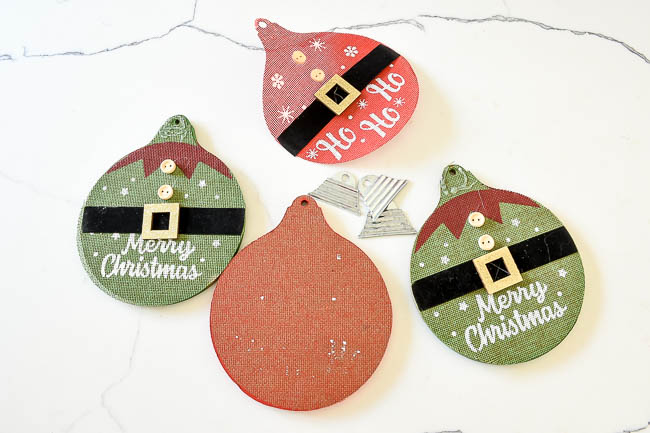 Removing decorations from Dollar Tree ornaments