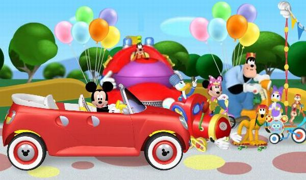 Play Mickey Mouse Clubhouse Rally Raceway games where you can accompany Mickey Mouse and his Clubhouse friends in a rally full of surprise raceway game