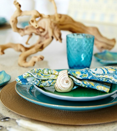 Beach Theme Kitchen Table Decor