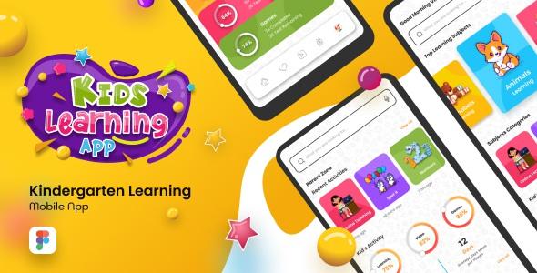 Best Kids Learning App Figma Template