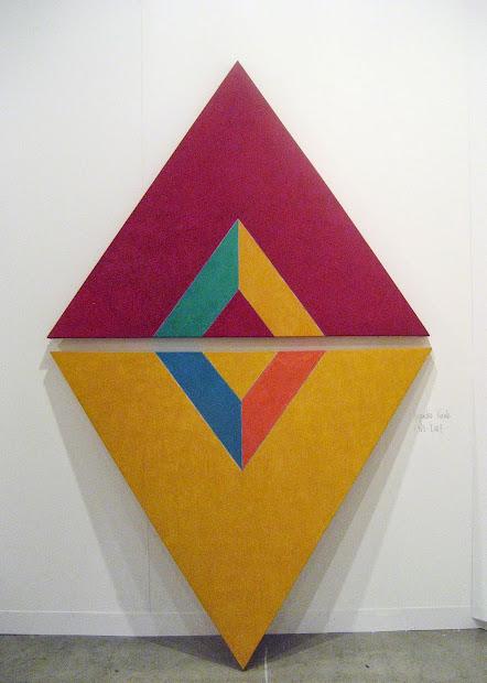 Joanne Mattera Art Mid-century Geometric Abstraction