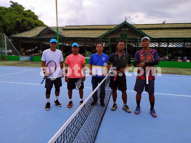 Tim Kukar A Melenggang ke Final Beregu Putra Turnamen Tenis KONI Kukar Open 2020