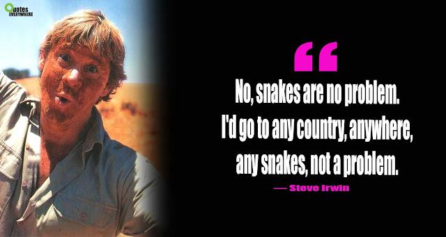 Steve Irwin Quotes Danger