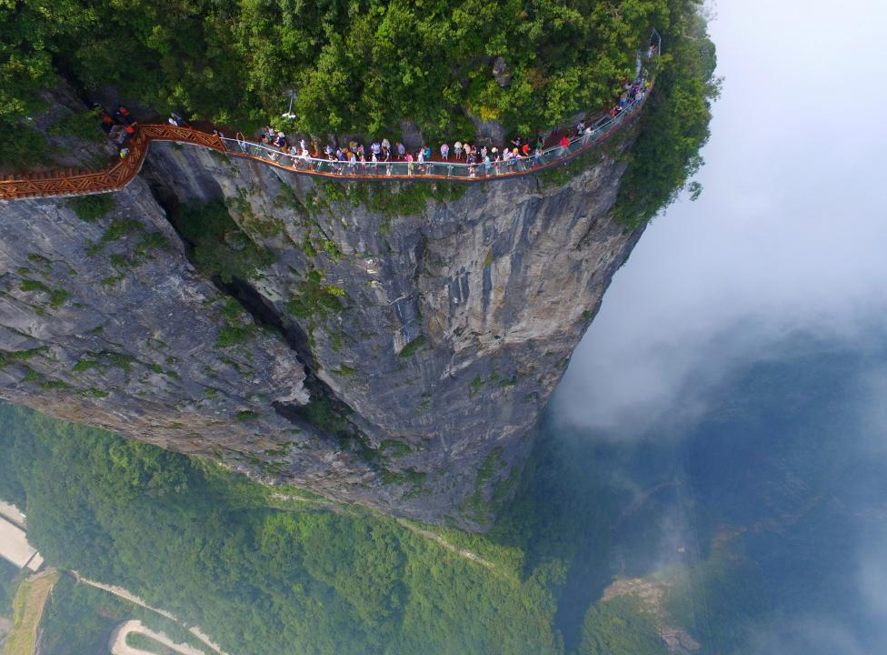 zhangjiajie glass bridge worlds longest and highest - Zhangjiajie Glass Bridge