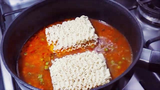 maggi masala homemade recipe,maggi masala quick recipe