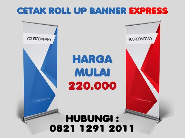 Cetak Roll Banner Murah di Jakarta