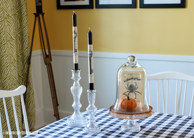 Spooky Halloween Book Page Crafts - Decorating with Vintage Book Pages