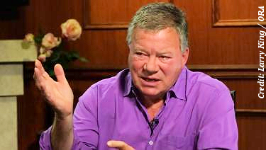 William Shatner on Larry King Now