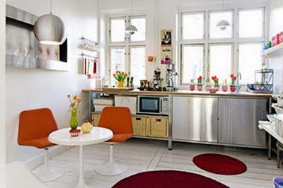 cocina con comedor integrado