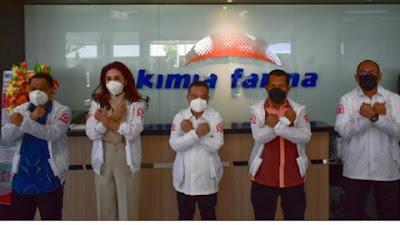 Satgas Covid-19 DPR Tinjau Kimia Farma, Sari Yuliati : Stok Obat Aman