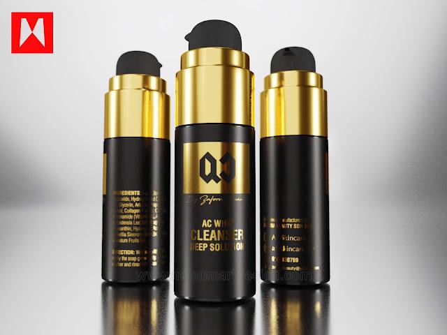 3d cleanser produk serum skincare kecantikan