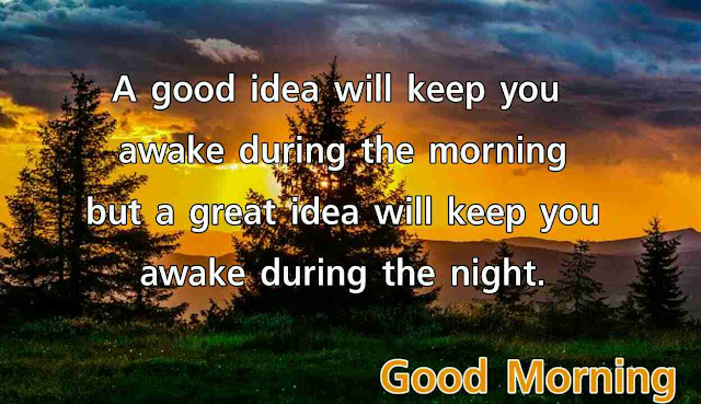 Good morning quotes message