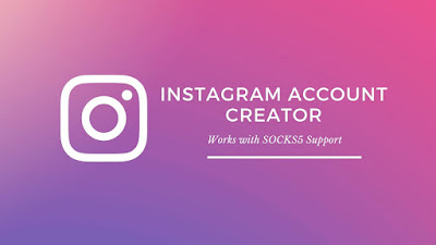 Instagram Mass Account Creator PHP Script with SOCKS5 Support
