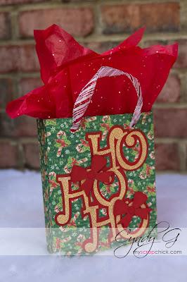 Ho Ho Ho gift bag