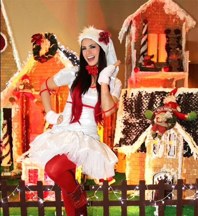 Sully Sáenz encenderá el árbol de Navidad en Parque Lambramani