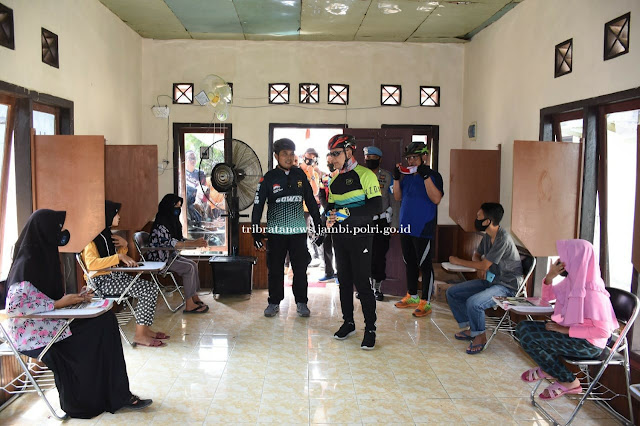 Polisi Peduli Pedidikan, Kapolda Tinjau Ruang BEKALI, Inovasi Polres Muaro Jambi