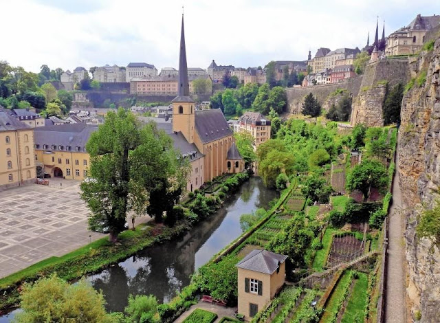 You should travel to Luxembourg in spring or autumn.